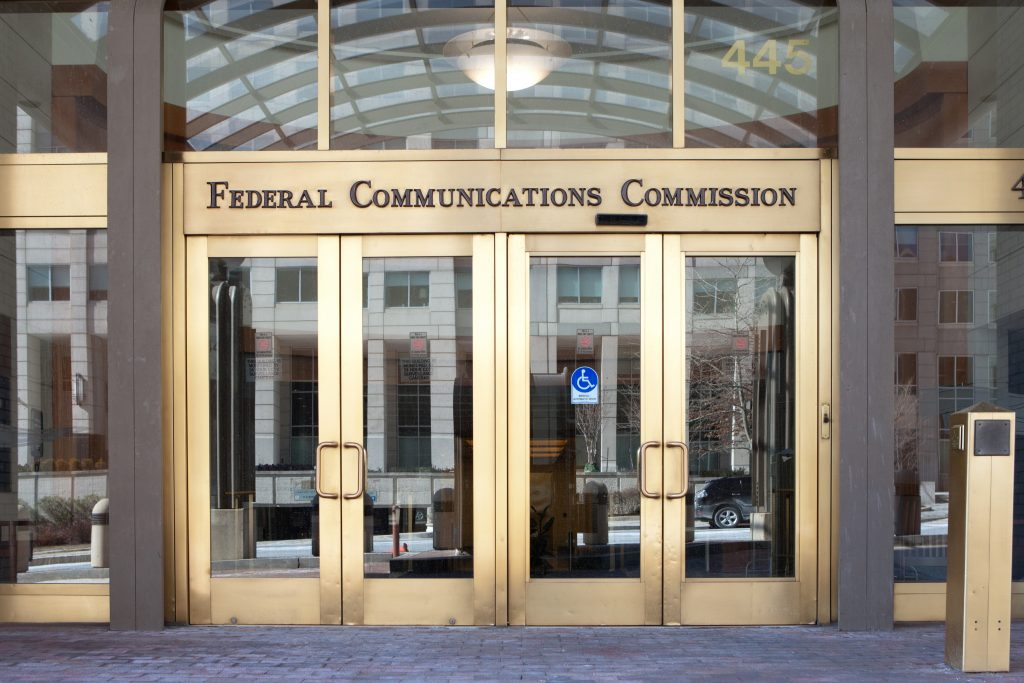 Front of FCC Building