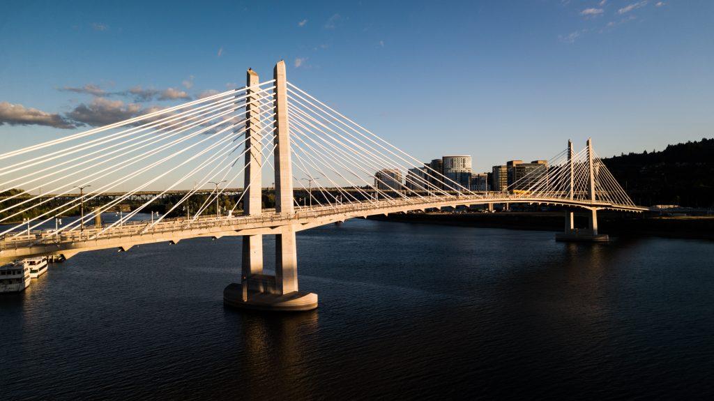 Picture of bridge in Portland