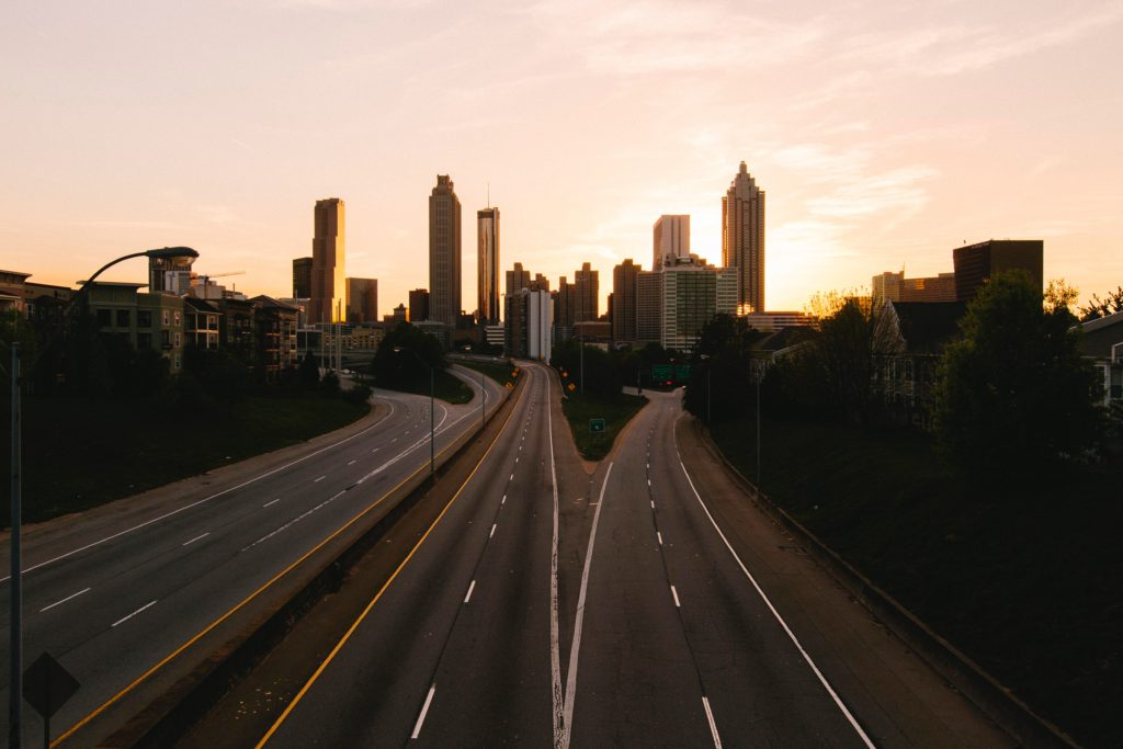 Photo of Atlanta at Sunset
